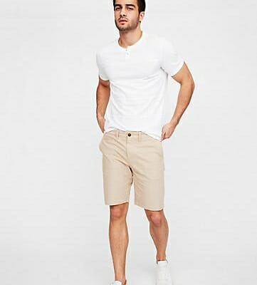 Mens fitted shorts good example