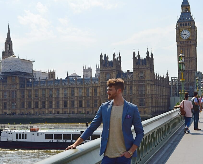 Kieron Premium Photoshoot Westminster Bridge 2